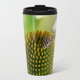 Rudbeckia white 065 Travel Mug
