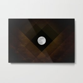 Super Moon Metal Print