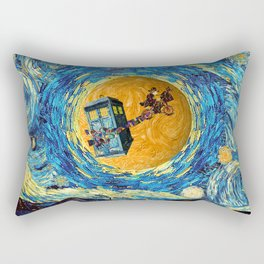 Doctor Who 4th at starrynight Rectangular Pillow