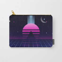 Neon Twilight Carry-All Pouch