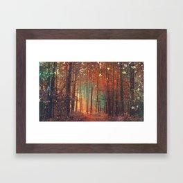 Forest1 Framed Art Print
