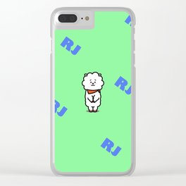 BTS Jin BT21 RJ Clear iPhone Case