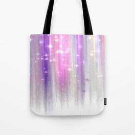 lights curtain a Tote Bag