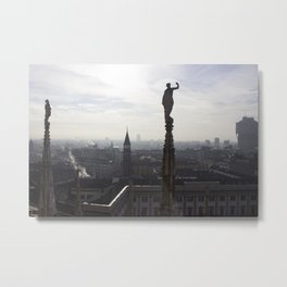 The Sentinels of Milan Metal Print