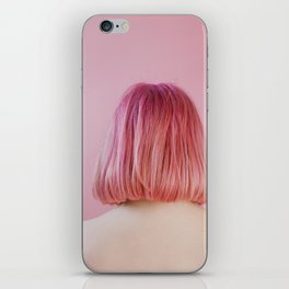 vanessa (pink hair) iPhone Skin