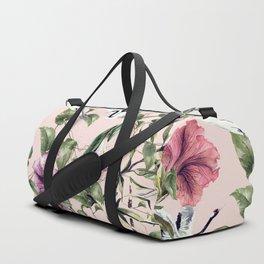 Cranes in the exotic garden Duffle Bag