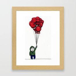 Cartoon Life Framed Art Print