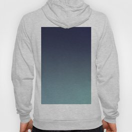 NIGHT SWIM - Minimal Plain Soft Mood Color Blend Prints Hoody