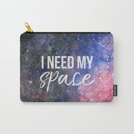 I Need My Space Watercolour Carry-All Pouch