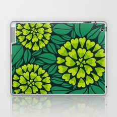 Spring Green Floral pattern Laptop & iPad Skin