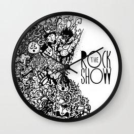 The Rock Show Wall Clock