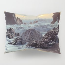 Crashing Waves II Pillow Sham
