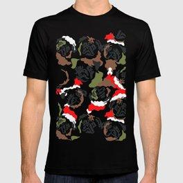 Pugly Camo X-Mas T-shirt