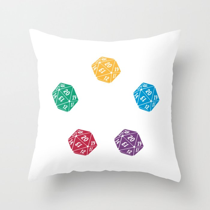 Mana Spin-downs Throw Pillow