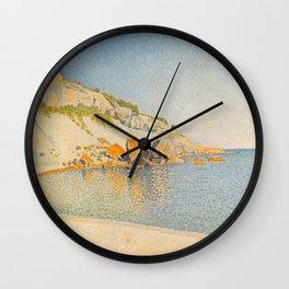 """Paul Signac """"Cassis. Cap Lombard, Opus 196"""" Wall Clock"""