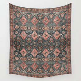 N255 - Vintage Oriental Old Traditional Boho Moroccan Fabric Style Wall Tapestry