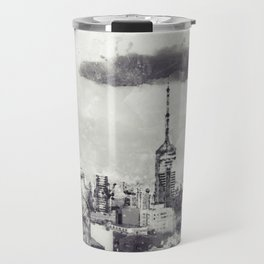 Sao Paulo - WaterColor 003E Travel Mug