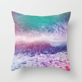 Infinite Waves and Endless Summers Throw Pillow