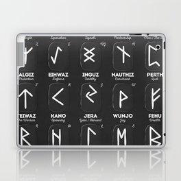 Viking Runes Laptop & iPad Skin
