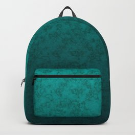 Turquoise marble Backpack