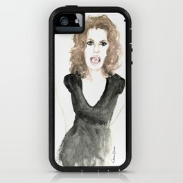 Sandra portrait iPhone Case