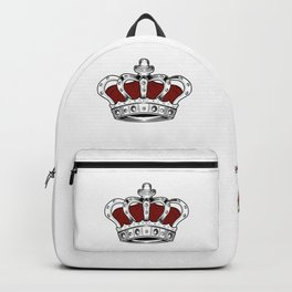Crown - Red Backpack