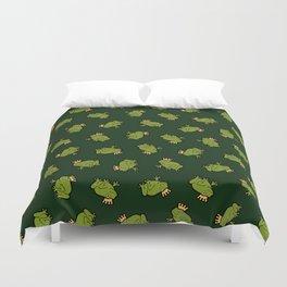 Frog Prince Pattern Duvet Cover