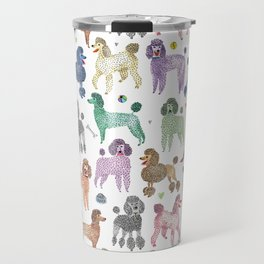 Poodles by Veronique de Jong Travel Mug