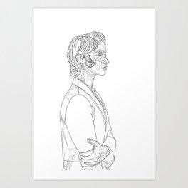 Melanie Scrofano Art Print