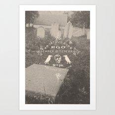 Mortuus Sum Art Print