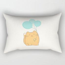 gil, the cat Rectangular Pillow