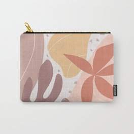 Terracotta Bloom Carry-All Pouch