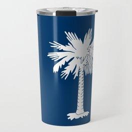 Flag of South Carolina Travel Mug