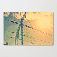 Holding The Power Canvas Print