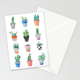 drawing cacti Stationery Cards