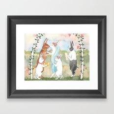I do. Framed Art Print