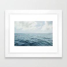 Vitamin Sea by Audrey Amelie Framed Art Print