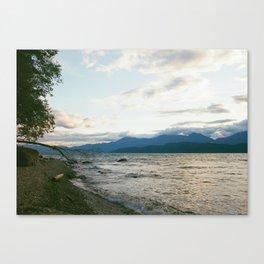 Beach'n Sunset Canvas Print