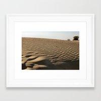 dune Framed Art Prints featuring DUNE by Avigur
