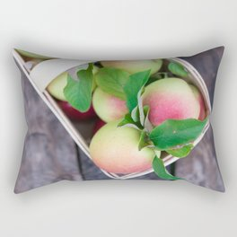 Apples for Pie Rectangular Pillow