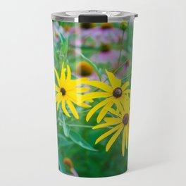 Wildflowers at Dusk Travel Mug