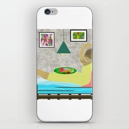 Bed and Breakfast iPhone Skin