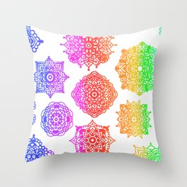Zentangle Flow #2 Throw Pillow