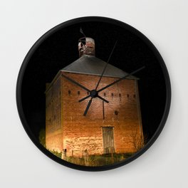 Chicory Kiln Wall Clock