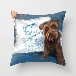 Queen Piper Throw Pillow