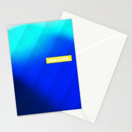 IMAGINE gradient no1 Stationery Cards