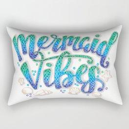 Mermaid Vibes Rectangular Pillow