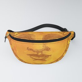 Sun vintage orange Fanny Pack