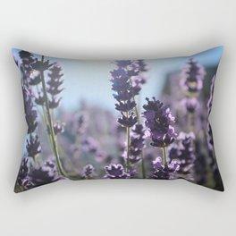 Lavender Lighting Rectangular Pillow