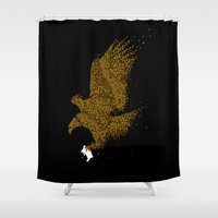 hunting Shower Curtains featuring Hunting by Flying Mouse 365
